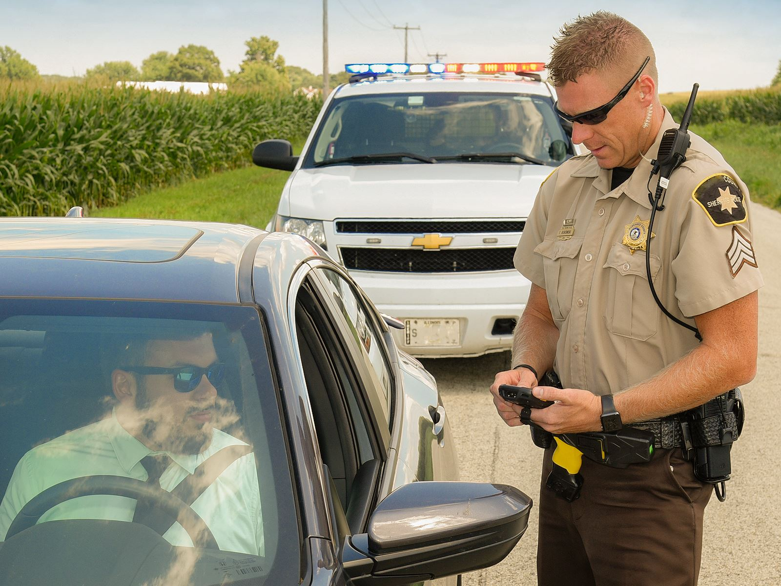 Spend Less Time on the Roadside<br>and Enhance Officer Safety
