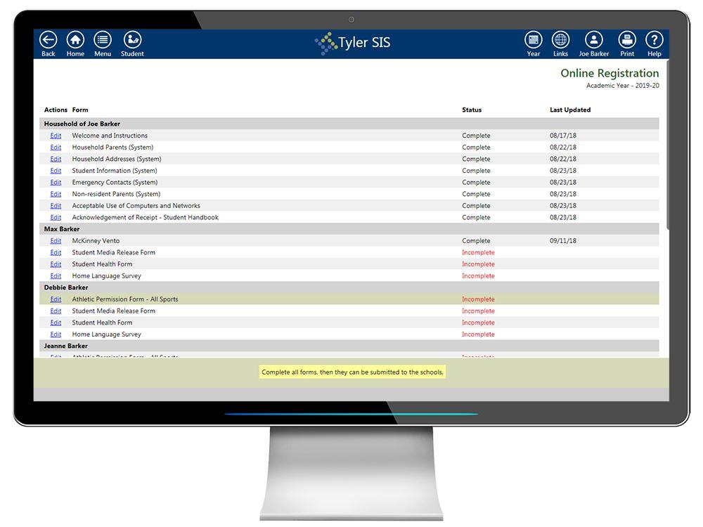 Tyler SIS | Tyler Technologies
